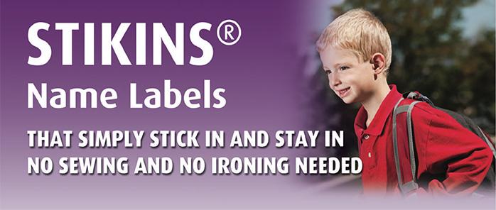 Stikins Name Labels