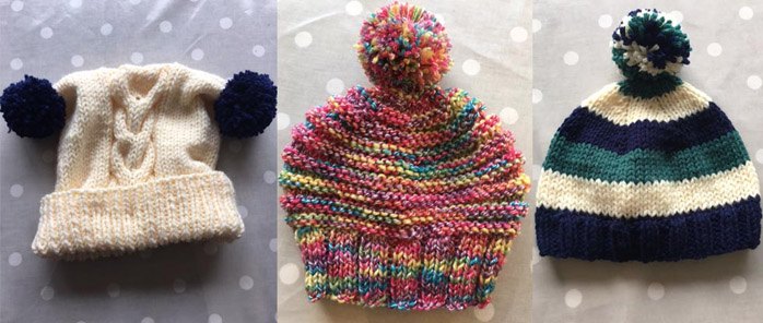Knitted Hats to order